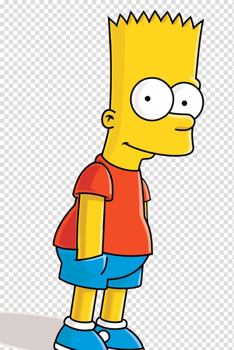 Bart Simpson , Drawing Art Vexel Sketch, Bart Simpson.