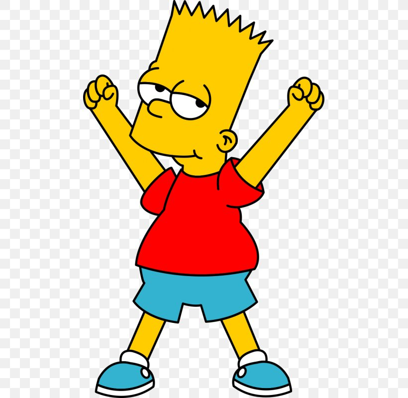 Bart Simpson Homer Simpson Lisa Simpson Clip Art, PNG.
