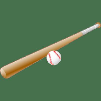 Baseball bat clipart transparent background » Clipart Station.