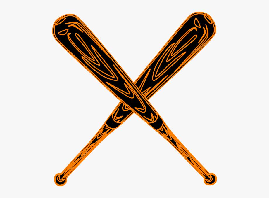 Baseball Bat Svg Clip Art.