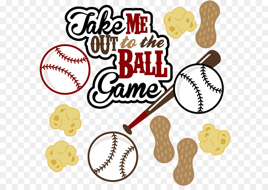 Chicago Cubs Take Me Out to the Ball Game Baseball Clip art.