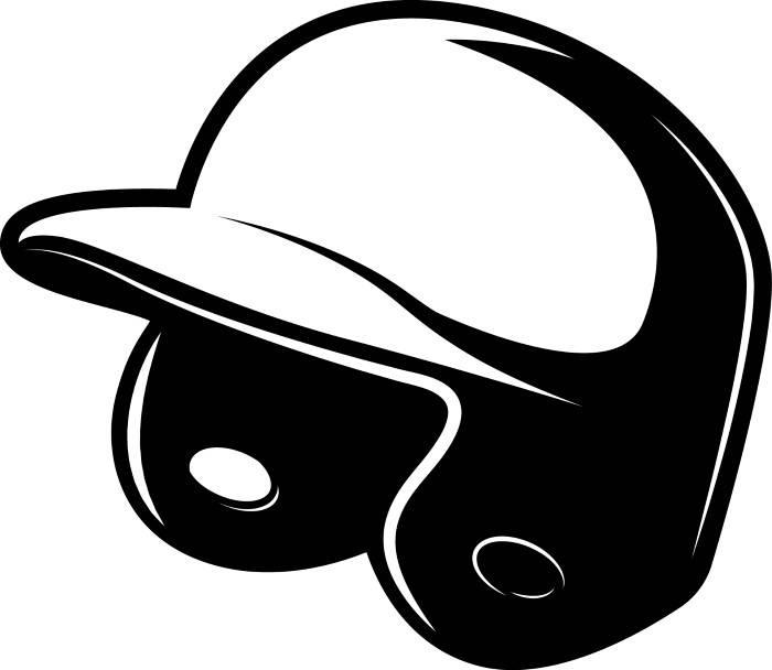 Baseball Helmet Clipart.