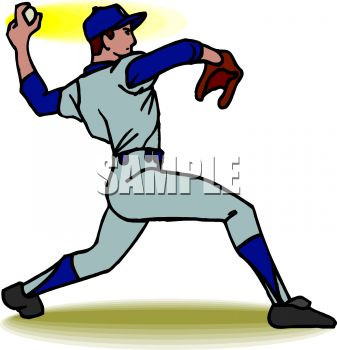 Baseball pitcher clipart 4 » Clipart Station.