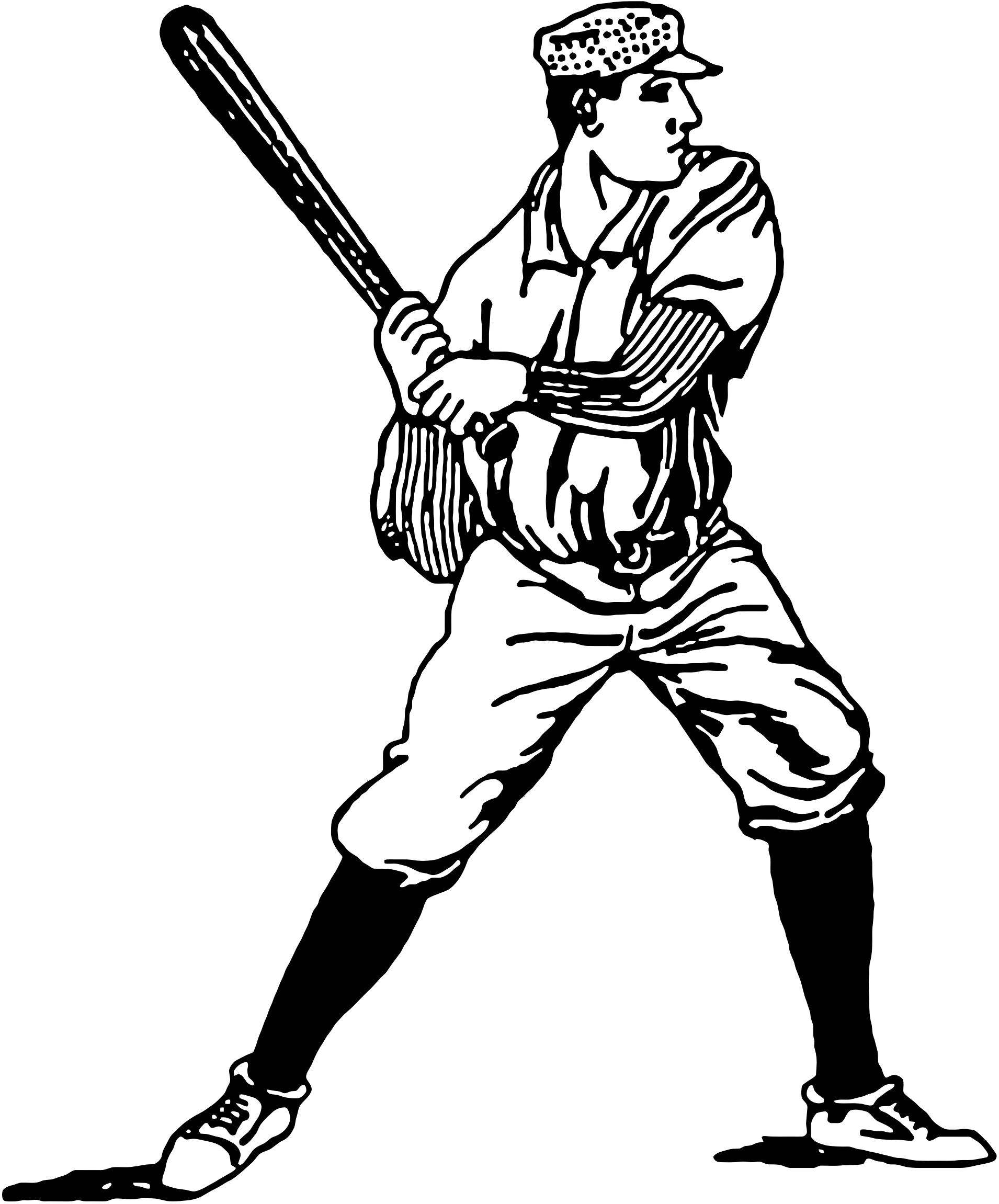 Baseball Players Clipart.