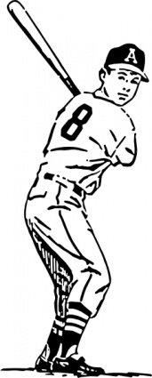 Free Baseball Clipart and Vector Graphics.