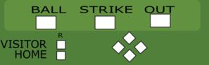 Baseball Scoreboard Clip Art at Clker.com.