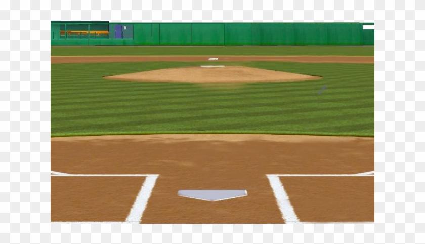 Stadium Clipart Softball Field.