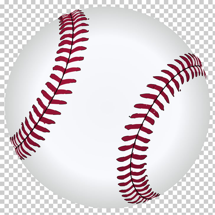 Baseball bat Scalable Graphics , s Of Baseballs, white and red.