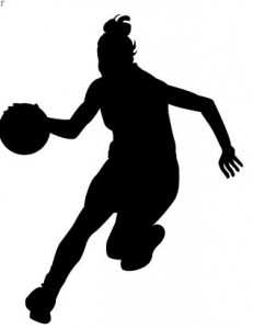 Basketball Player Clipart Girl.