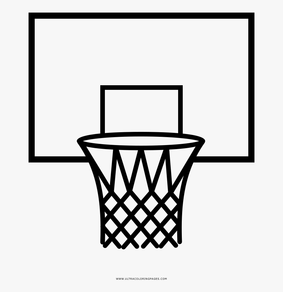 Basketball Goals Clipart.