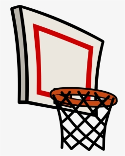 Free Basketball Hoop Clip Art with No Background.