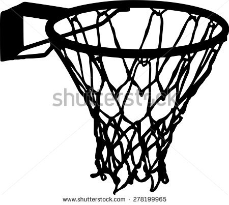 Basketball Net Stock Images, Royalty.
