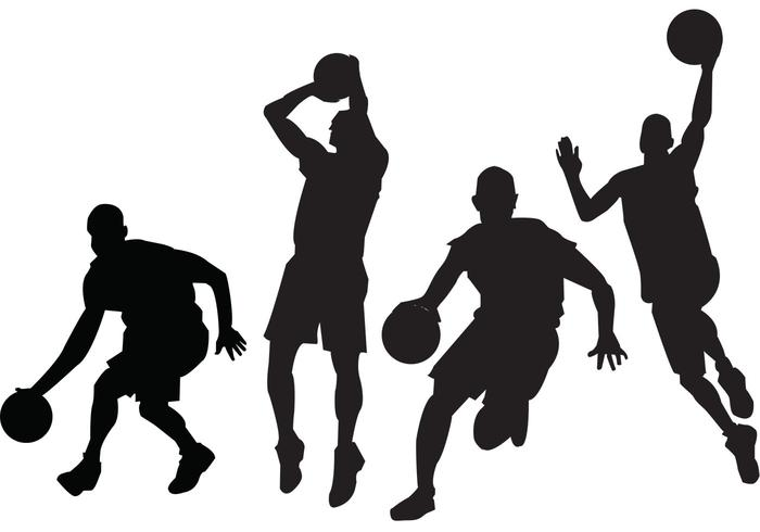 Free Basketball Player Clipart.