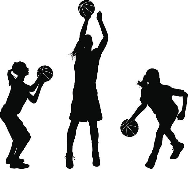 Basketball player shooting clipart 5 » Clipart Station.
