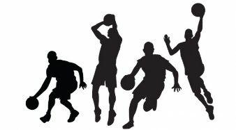 Basketball Players Vectors.