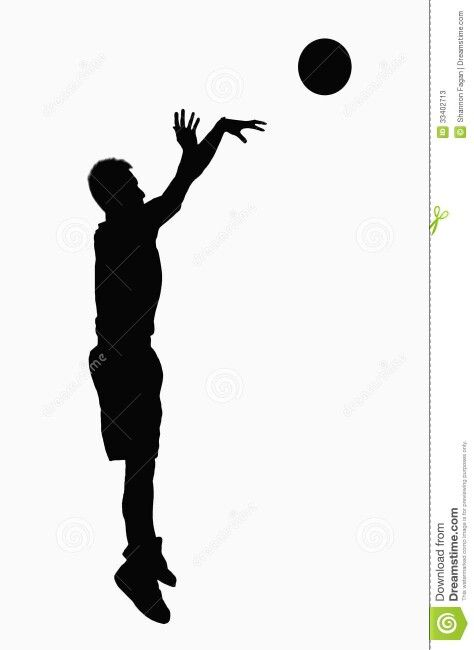 Basketball Player Shooting Clipart (98+ images in Collection) Page 1.