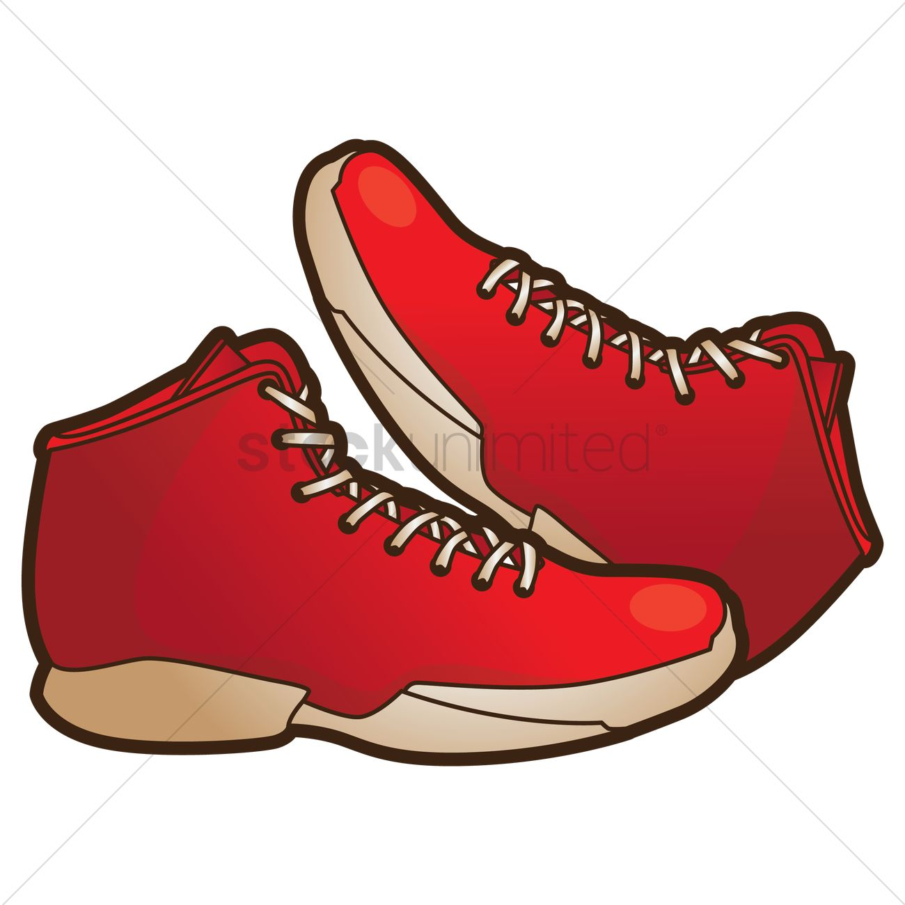 Basketball shoes clipart 3 » Clipart Station.