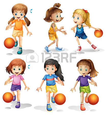 22,322 Basketball Team Cliparts, Stock Vector And Royalty Free.