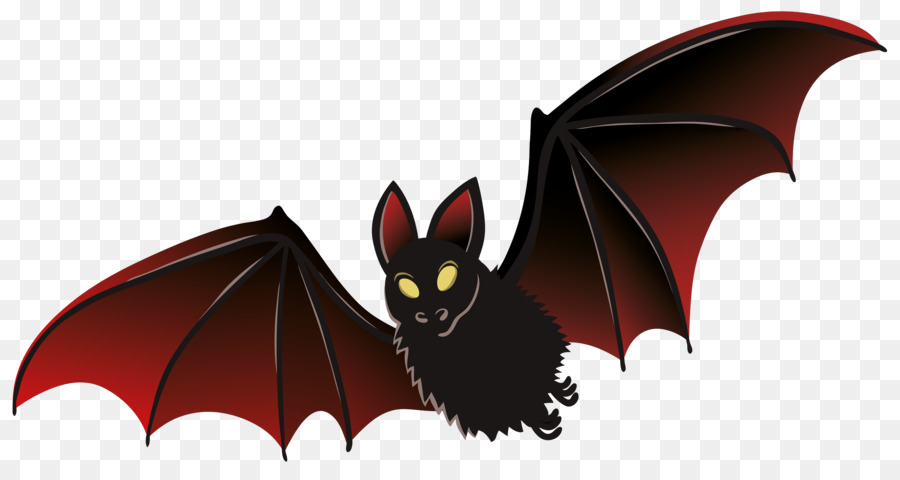 Bat Cartoon clipart.
