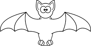 Bat Clipart Black And White Png.