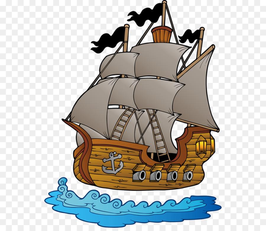 Clip Art: Transportation Ship Vector graphics Illustration.