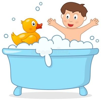 Free Bathtub Clipart bath time, Download Free Clip Art on Owips.com.
