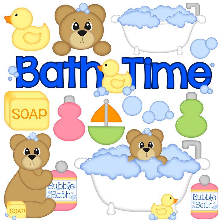 clipart bath time - Clipground