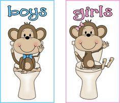 Jungles, Bathroom and Monkey bathroom on Pinterest.