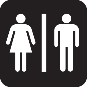 Bathroom Pass Clipart.