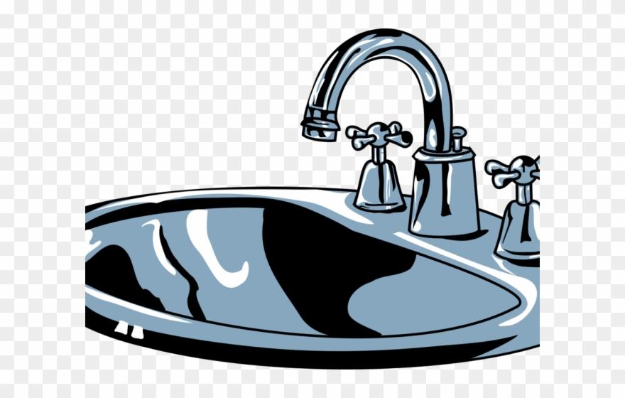 Bathtub Clipart Shower Tap.