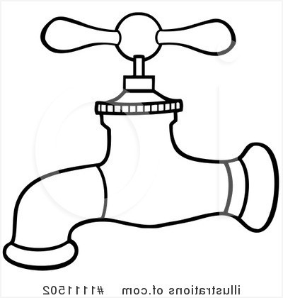 Faucets Bathroom Sink » Warm faucet clipart 1111502 illustration by.