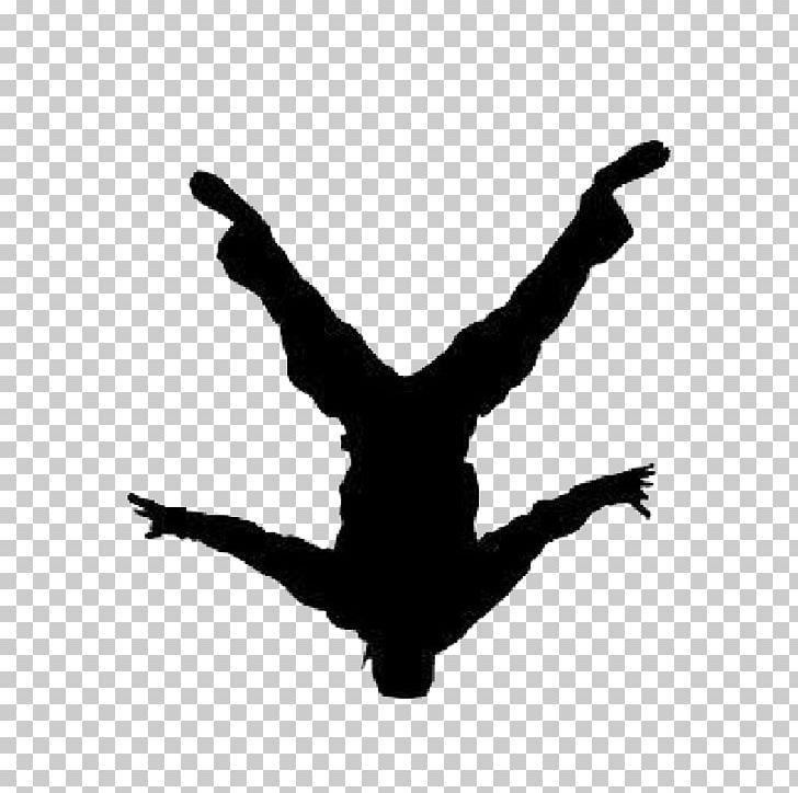 Breakdancing Dance Silhouette B.