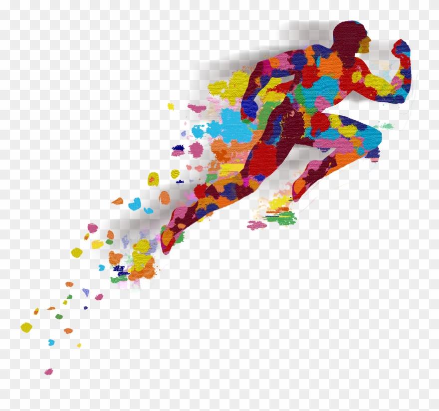 Man Running Final Version Bea Clipart (#4584775).