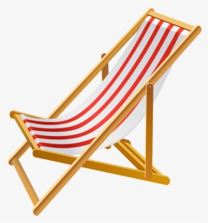 Free Beach Chair Clip Art with No Background.