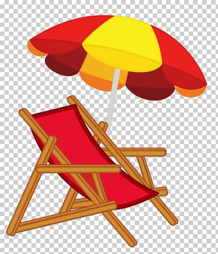 Eames Lounge Chair Beach , Umbrella Chair s PNG clipart.