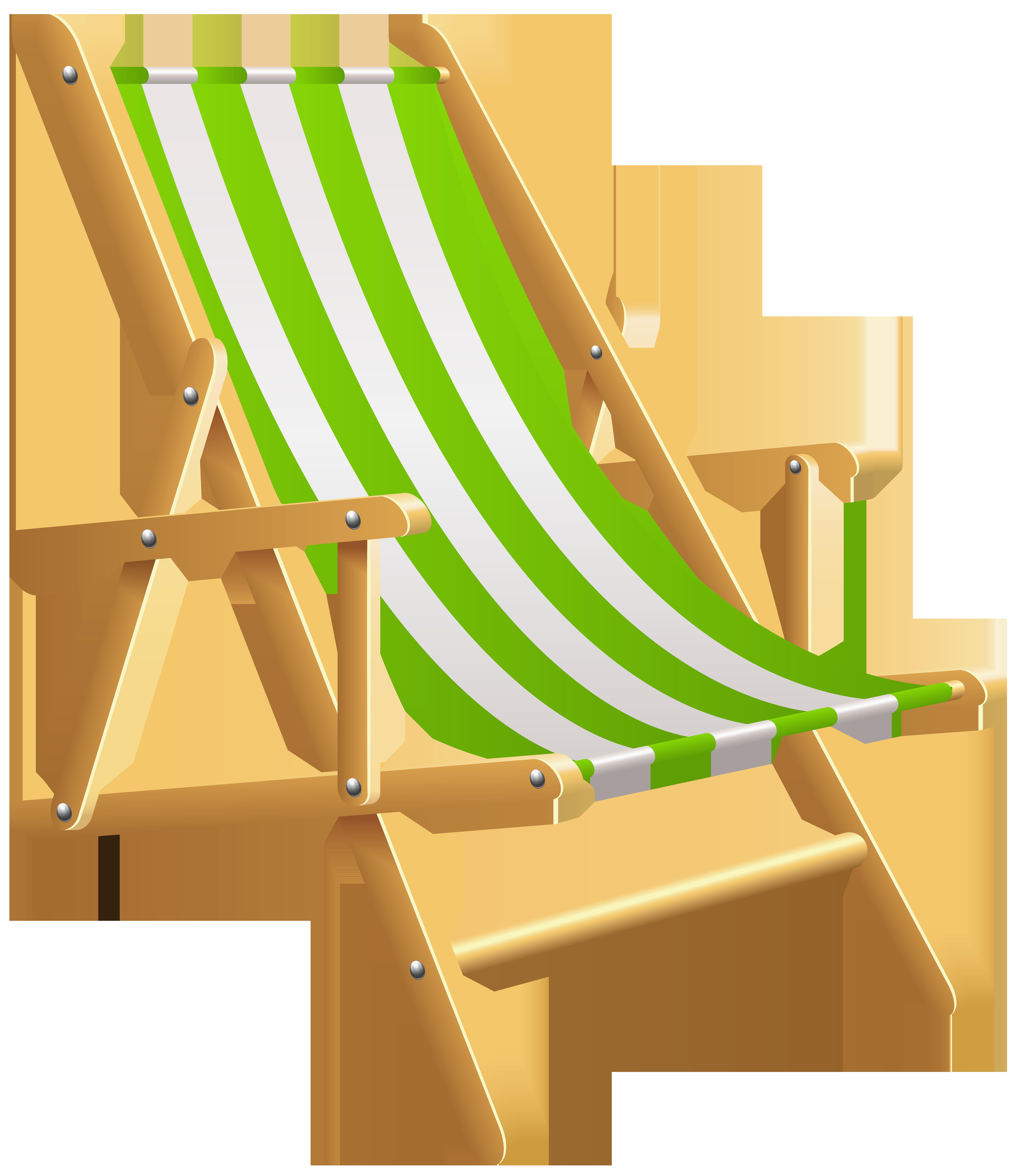 Beach Chair PNG Clip Art.