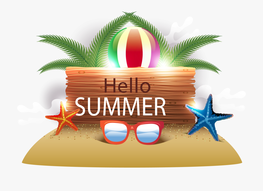 Vacation Clipart Beach Party.