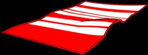 Red Beach Towel Clip Art at Clker.com.