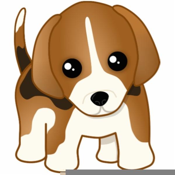 Cartoon Beagles Clipart.
