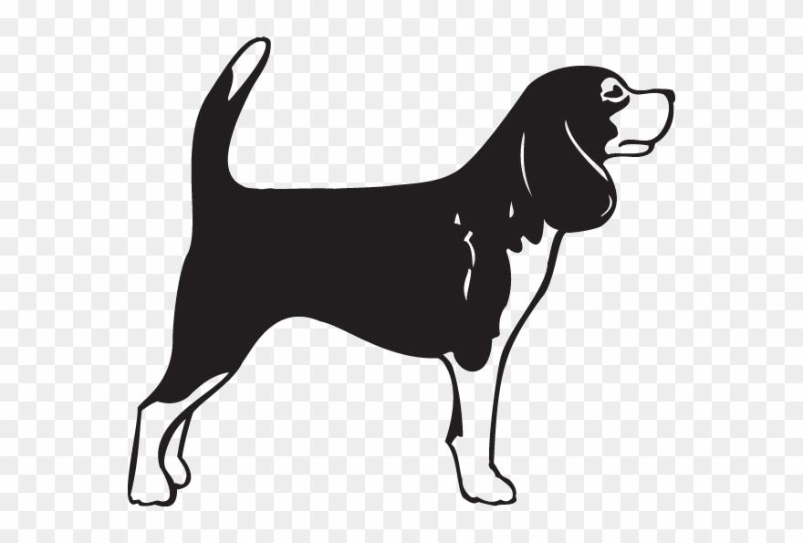 Svg Transparent Beagle Clipart Playful Puppy.