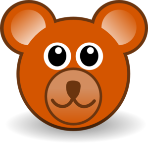 Teddy Bear Face Clip Art at Clker.com.
