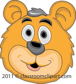 Bear Face Clipart & Bear Face Clip Art Images.