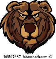Bear face Clip Art Royalty Free. 5,502 bear face clipart vector.