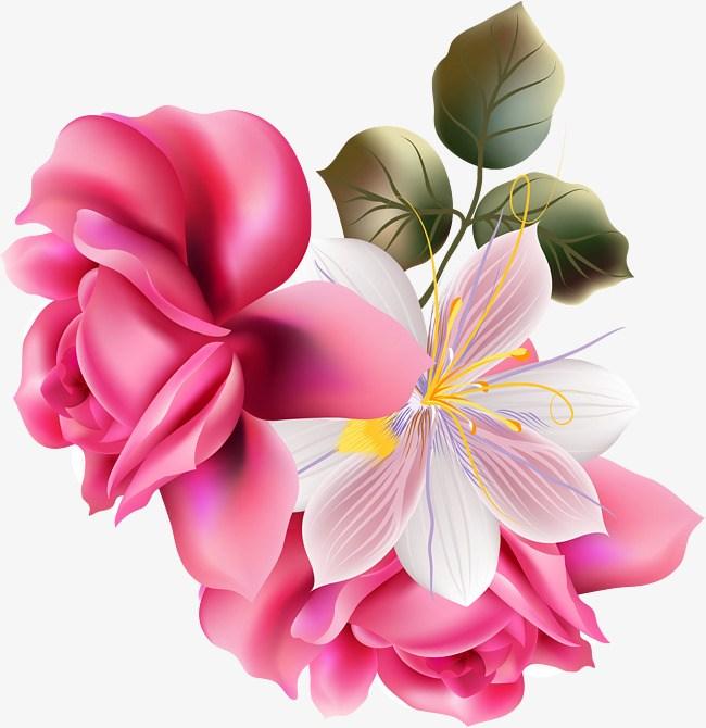 Clipart beautiful flowers 6 » Clipart Portal.