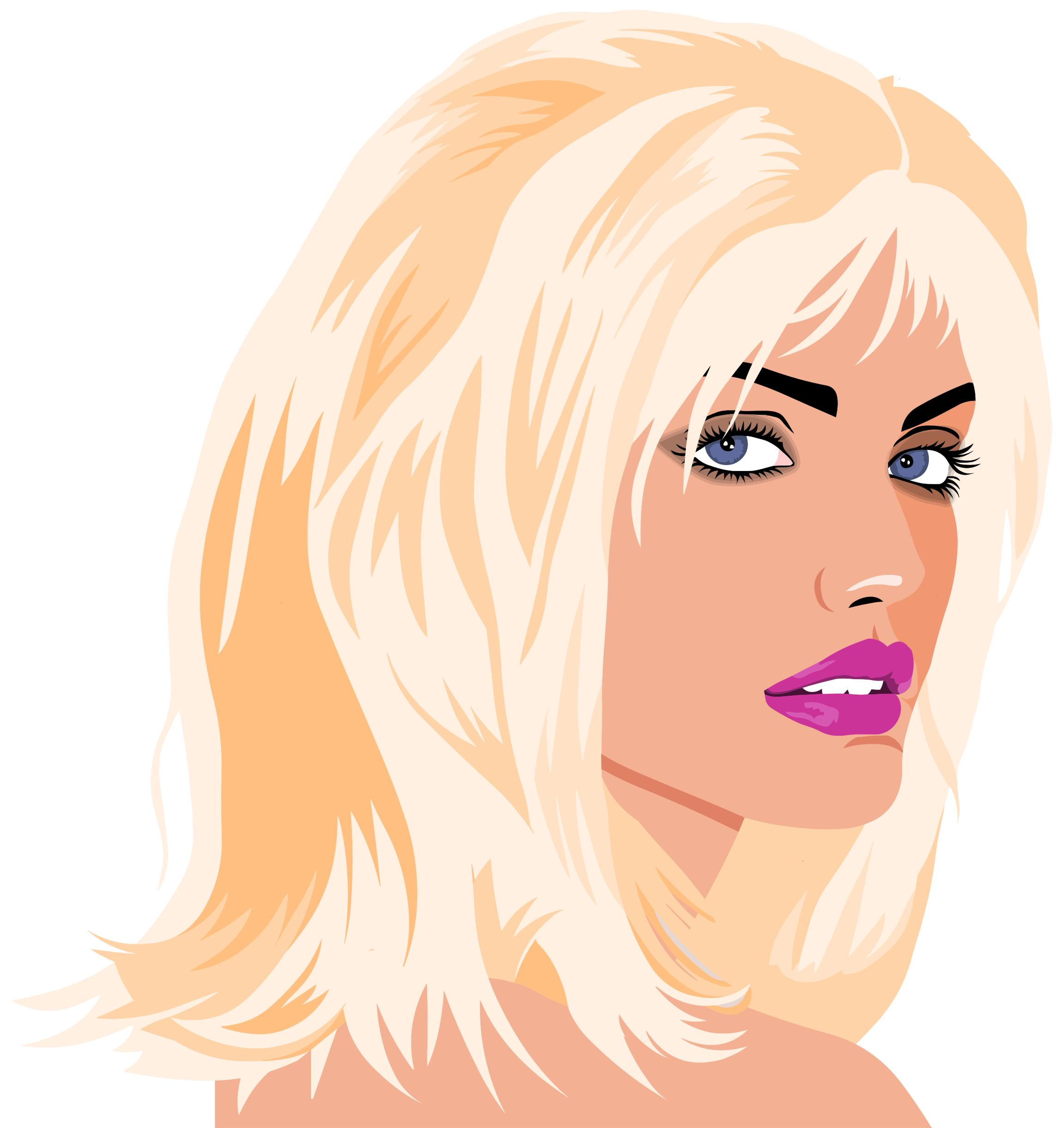 Beautiful woman clipart 7 » Clipart Station.