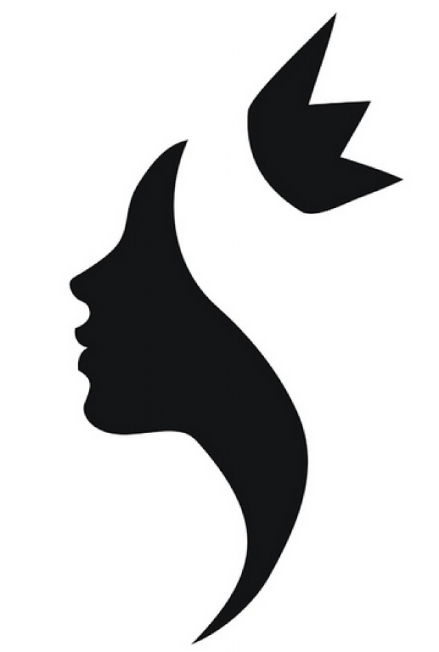 Miss America Beauty Pageant Silhouette Royalty.