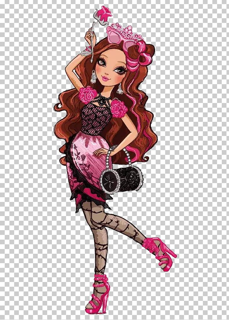Kate Higgins Ever After High Briar Beauty Queen Sleeping Beauty PNG.