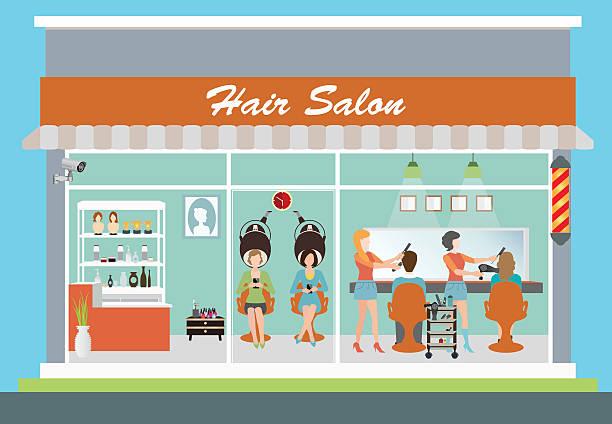 1185 Salon free clipart.