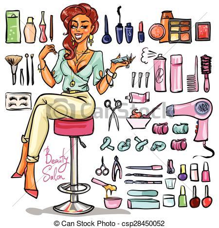 Beauty shop clipart 3 » Clipart Station.