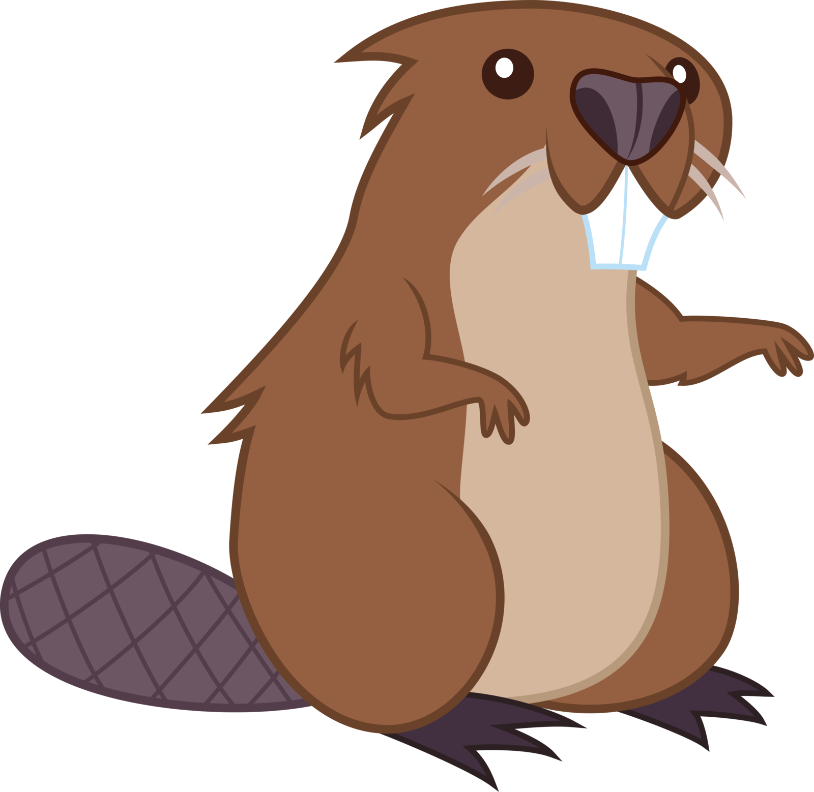 Beaver Cartoon Clip Art Transprent Png Free.